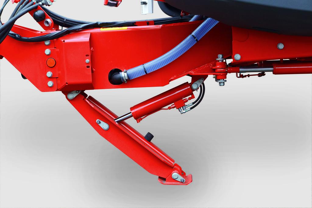 Dyszel opryskiwacza po modernizacji stanowi wyłącznie element nośny ramy.